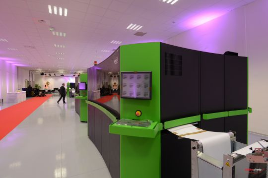 Photo Impika devient le grand centre d'innovation jet d'encre de Xerox