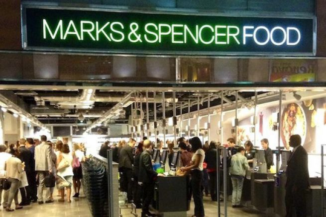 marks and spencer ouvre son premier magasin food la d fense. Black Bedroom Furniture Sets. Home Design Ideas
